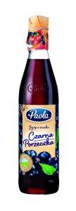 Syrop Paola o smaku czarnej porzeczki