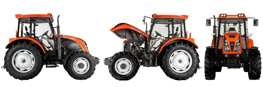 Współczesne traktory Ursus - fot. ze strony producenta