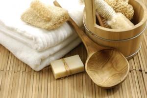 ekologiczne akcesoria łazienkowe (źródło: pinterest)