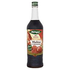 Syrop owocowy Malina z Żurawiną
